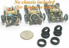 6pc TYCO Slot Car Tyco Pro Curve Hugger HP-2 FRONT TIREs  French Replacements