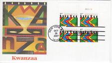 SSS: US Fleetwood FDC 2007  41c Kwanzaa  PB4  Sc #4220