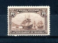 Canada 1908 20c Quebec Tercentenary MNH