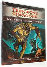 Dungeons & Dragons KING OF THE TROLLHAUNT WARRENS (P1) D&D 4th Edition d20 NEW