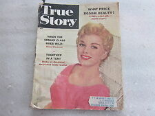1957 True Story July Issue What Price Bosom Beauty, When Senior Class Goes Wild