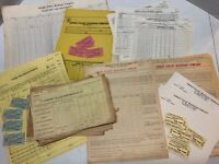 Lehigh Valley Railroad Collectibles Tickets Documents Freight Bills 75 Items