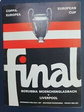 More details for 1977 european cup final - liverpool 🏴 v borussia moench 🇩🇪