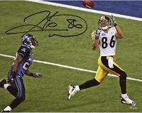 Hines Ward Pittsburgh Steelers Autographed 8x10 SB XL Catch Photo - Fanatics