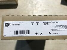 1746-NI16I Series A FRN 2 16 Channel Analog Input Module SLC500 New Unsealed