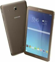 "SEALED BRAND NEW SAMSUNG GALAXY TAB E SM T560 8GB Wi-Fi + 3G 9.6"" BROWN ANDROID"