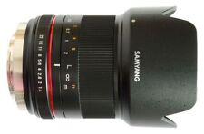Obiettivi Olympus con tappo anteriore per fotografia e video