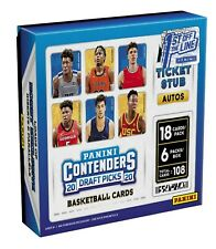 2020-21 Panini Contenders Draft NBA Basketball card Hobby Box BRAND NEW. CHEAP!