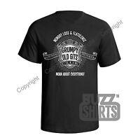 Grumpy Old Gits Club Mens ORGANIC T-Shirt Father Grandad Dad Birthday Eco Gift