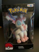 NEW Toys R Us Exclusive Pokemon Tomy Sylveon Plush Stuffed Animal