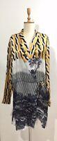 SALE Dries Van Noten Versatile Dress Wrap Jacket Kaftan Size L wornonce RP $1260