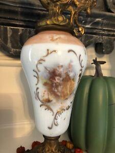 Antique 19th C. Brass Spelter Urn Pitcher Ewer Unusual Clock