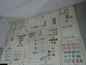 Nystamps Dominican Republic many mint old stamp collection & rare plating !