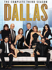 Dallas ~ Complete 3rd Third & FINAL Season 3-DISC DVD SET