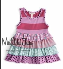 NWT In Bag Matilda Jane Girls Size 6 Once upon a time Oh Dear Tunic Top New