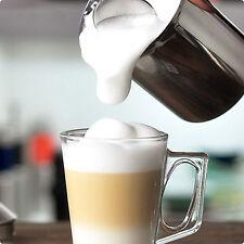 Glass Coffee Cups & Saucers