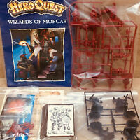 Heroquest Wizards Of Morcar Expansion NO BOX MB/Games Workshop Complete!