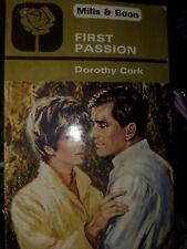First Passion by DOROTHY CORK  Mills & Boon Vintage
