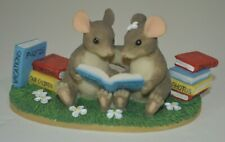 Charming Tails I'd Do It All Over Again Figurine by Fitz and Floyd 84/106