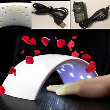 Portable LCD Nail UV Sunlight Lamp Gel Polish Curing Nail Toenail Dryer Timer