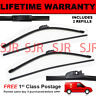 "FRONT AERO WINDSCREEN WIPER BLADES PAIR 26"" + 26"" FOR SEAT ALTEA XL 2006 ON"