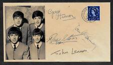 The Beatles Collector Envelope Original Period 1960s Stamp OP1143