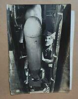 photograph U.S. airmen cadet john h. Pressley dropping 100 LB bombs in training
