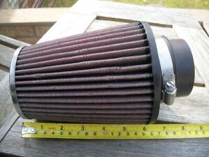K&N cone filter, universal