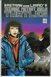 TEENAGE MUTANT NINJA TURTLES # 11 1987 IDW