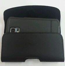 FOR HTC ONE MAX XL LEATHER POUCH BELT CLIP HOLSTER FIT BODY GLOVE CASE