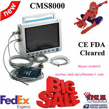 USA CONTEC ICU/CCU vital Signs Patient Monitor 6 Parameters Clinic/Hospital HOT
