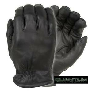Damascus Q5 Quantum Duty Leather Cut Resistant Gloves With Razornet Ultra