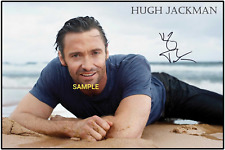 4x6 SIGNED AUTOGRAPH PHOTO REPRINT of HUGH JACKMAN #TP