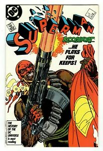 Superman (1987) #4 VF/NM 9.4-9.6 First Appearance of Bloodsport