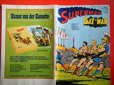 """Ehapa,"""" Superman"""": Heft 15 von 1971 in gutem Zustand (1-2)"""