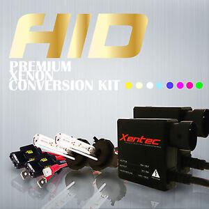 Xentec HID KIT SLIM Xenon 9003 H4 Hi-Lo Beam 9004 9007 H13 9008 Conversion Light