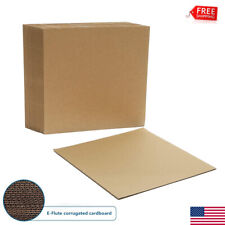 50pcs Insert Pads Lp Record Mailer Corrugated Filler Scrapbook Catalog 1225