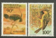 Timbres d'Afrique, sur oiseaux