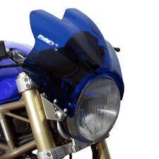 Pare brise Puig WV pour Kawasaki W 650/800/ZR-7/ZRX 1200 saute vent bulle bleu