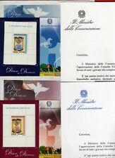 2006 : Italia -Foglietti Diciottenni Azzurro e Rosa in Confezione Originale