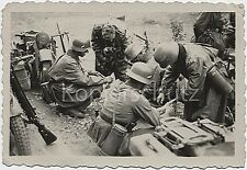 Soldados cargado sus motocicletas! Zündapp 750 guerra mundial foto imagen 10x15cm