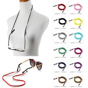 Fashion Faux Suede Sunglasses Lanyard Eyeglasses Eyewear Chain Cord Decoration