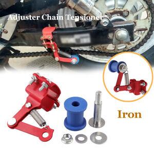 Universal Iron Motocross Chain Tensioner Adjuster Roller Tools for Dirt Bike ATV