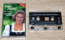 Stefanie Hertel – Heimatlieder Zum Verlieben (1996) MC, Volksmusik, gebraucht