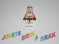 LEGO Minifig figurine personnage Star Wars clone trooper choose model - KG 64