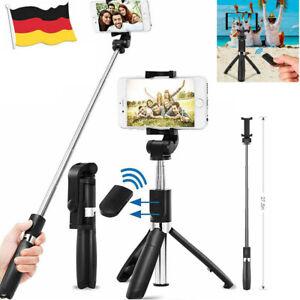 Handy Bluetooth Selfie Stick Stativ mit Fernbedienung 360°Rotation Selfie Stange