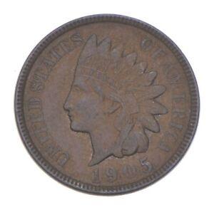 XF+ 1905 Indian Head Cent - Razor Sharp *383