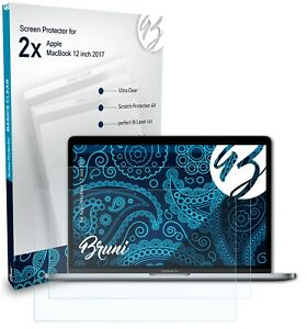 Bruni 2x Protective Film for Apple MacBook 12 inch 2017 Screen Protector