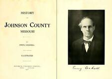 1918 JOHNSON County Missouri MO, History and Genealogy Ancestry Family DVD B23