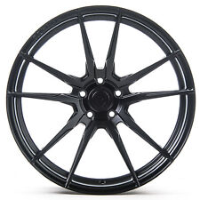"19"" Rohana RF2 Matte Black Concave Wheels for Hyundai"